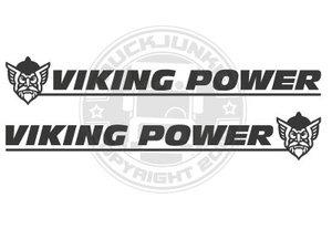 VIKING POWER -NUOVO- ADESIVO FINESTRA LATERALE