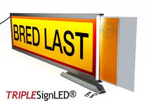 TripleSign®  260 x 965 x 25 mm