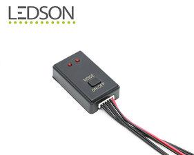 LED CONTROLLER STROBE CON -  10 MODELLI DI LUCE