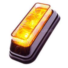 FLITSER 3 LED - GEKANTELD - ORANJE