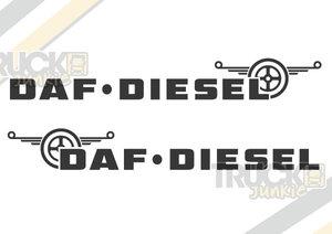 DAF DIESEL - STICKER