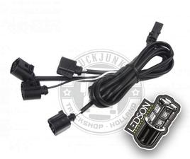 OptoLine - vertakkingskabels (4 connectoren)