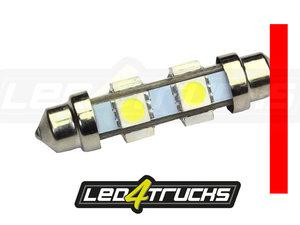 ROOD - 6xSMD LED 24-28V - FESTOON